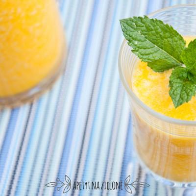 Koktajl pomarańczowo – cytrynowy. Orzeźwiający