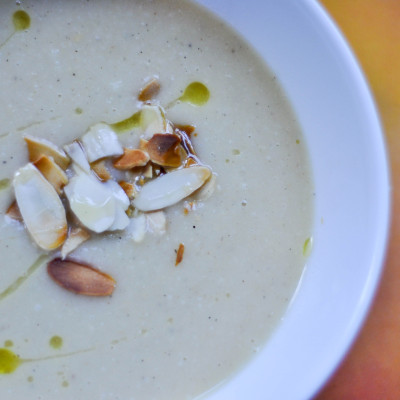 Zupa krem z białych warzyw