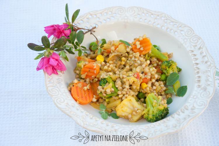 Kaszotto warzywne