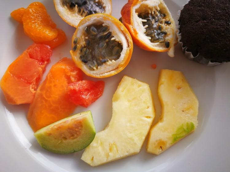 owoce na Dominikanie