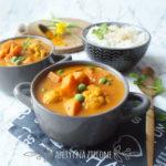 Curry wegetariańskie z batatami